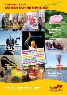 Studiefrämjandets vår- och sommarprogram 2011 - Vårens kurstrend – dans, dans och åter dans