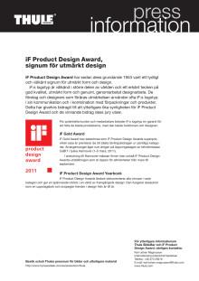 iF Design Award, signum för utmärkt design
