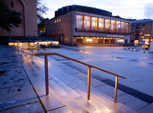 Götaplatsens ljussättning bäst i Sverige