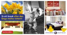 Unna dig lite lyx på Sweden Hotels stora Påskrea - rum för 500 kr