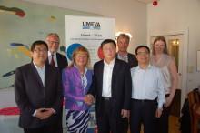 Xi'an och Umeå - miljöteknikssamarbete med utvecklingspotential