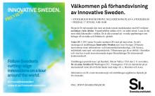 Välkommen på förhandsvisning av Innovative Sweden den 17 juni