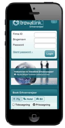 Travellink Erhvervsrejser har netop lanceret nyt mobil-site