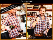 Christian Hellberg och Drostdy-Hof lanserar ny vinmatchad receptsamling