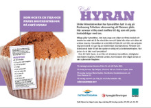Välkommen till Café Hyran under Almedalsveckan