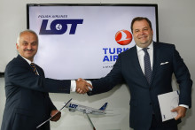 Turkish Airlines och LOT förbereder strategiskt partnerskap för framtida joint venture.