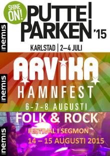 Vill du spela på Värmlands största festivaler?