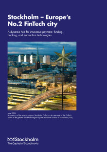 Stockholm - Europe's No. 2 FinTech city