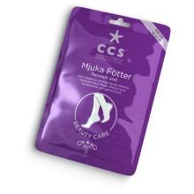 CCS presenterar ny fotprodukt i kategorin Beauty Care: CCS Mjuka Fötter – vårfina fötter med ny effektiv engångskur mot förhårdnader