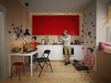 IKEA undersökning visar: Att vara med nära och kära viktigast med julen