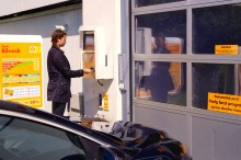 Ny vasketeknologi hos Shell: Bliv i bilen, mens du vasker