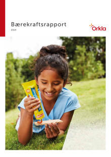 Orklas Hållbarhetsrapport 2014