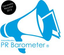 Generella resultat från 2013 års PR-Barometer Samhälle