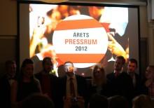 Vinnare Årets Pressrum 2012