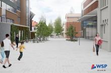 Gatorna kring badhuset Navet ska byggas om