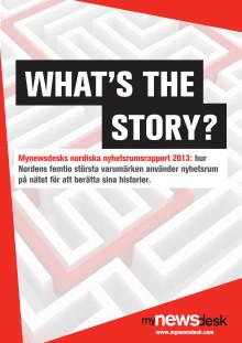 Nordiska varumärken i framkant enligt Mynewsdesks nyhetsrumsrapport