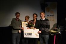 """Självtest vid vattenkastningsbesvär vann innovationstävlingen """"När jag blir 100"""""""