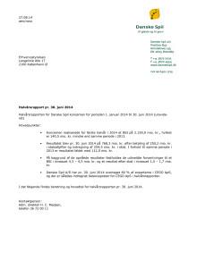 Halvårsrapport 2014