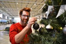 Årets trendigaste julgran står på Landvetter!