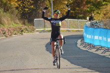 Jenny Rissveds svensk mästare i Cykelcross