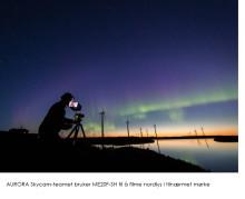 Spektakulær nordlysfilm skutt med ME20F-SH - produsert av norsk fotograf