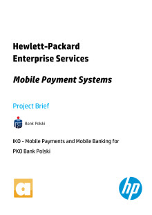Mobile payment systems brief - IKO mobile payment service