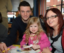Blues footballers help spread the love at Birmingham Children's Hospital