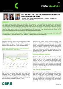 EMEA Retail Sales