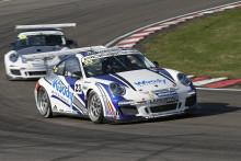 Ola Nilsson dubbelsegrade i sin Porsche debut