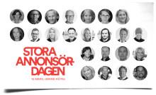 Påminnelse till pressanmälan till Stora Annonsördagen 2015
