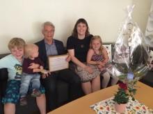 Örebro-föräldrar tackade Lennart Bondeson