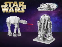 Star Wars og Star Trek DIY-figurer