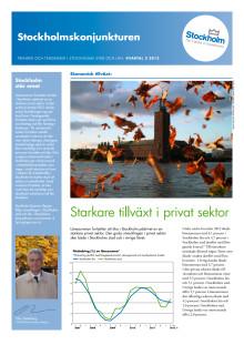 Stockholmskonjunturen kvartal 2 2012