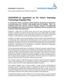 Press release Graphene-Coordinated Action (Eng)