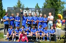 """IFK Arvidsjaurs pojkar 14 vinnare av """"Värdefulltpriset"""""""