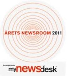 Mynewsdesk kårer Årets Newsroom 2011