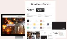 Celebration tar fram grafisk profil för inredningsshoppen BroadStreet Market