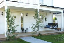 Hemma hos reportage: Härlig villa i New England-stil