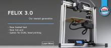 Felix 3.0 3D-tulostin