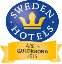 Sweden Hotels Gala 2015 - nomineringar Årets Guldkrona 2015