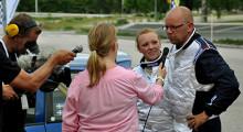 Andersson försvarade rallyguldet i sprint