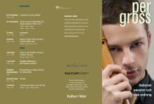 Programblad för Italiensk passion och tysk ordning