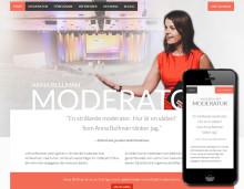 Digital strategi, kommunikationskoncept och ny webbplats åt Anna Bellman