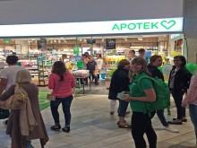 Apotek Hjärtats första flygplatsapotek öppnar