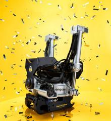 25-åring på MaskinExpo: engcon firar med Silver Edition