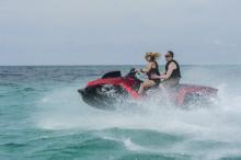 Bilbåten Quadski – som hämtad ur en actionfilm