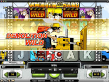 New exciting video slot - Demolition Squad