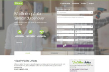 Offerta lanserar ny sajt – satsar på design och innehåll
