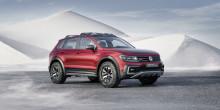 Världspremiär i Detroit: Tiguan GTE Active Concept