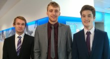 TALENTED TRIO ARE WELCOMED ONTO ALLIANZ'S ONE YEAR PLACEMENT SCHEME